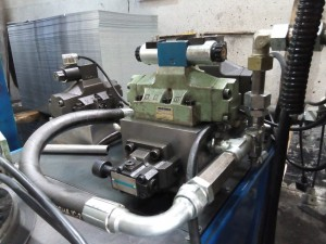 سیستم هیدرولیک پرس