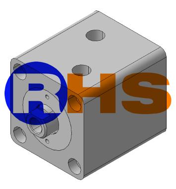 سیلندر هیدرولیک کامپکت - برند RHS