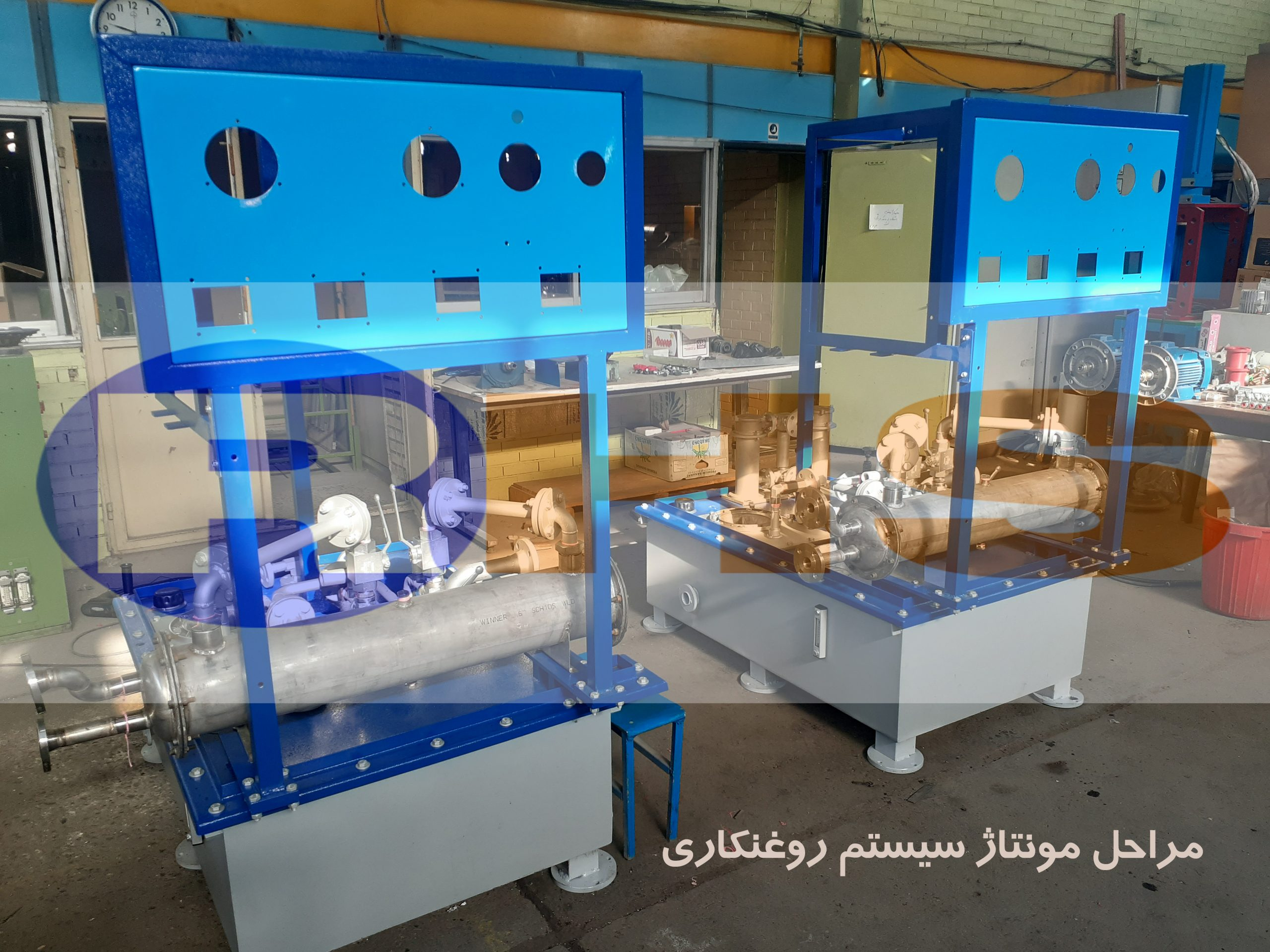 ساخت روغنکاری توربین بخار